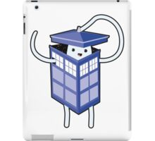 Cutie in the time and space iPad Case/Skin