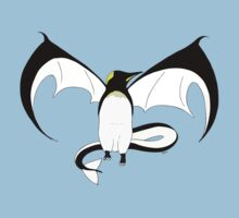 The Penguin-Dragon (First evolution) Kids Tee