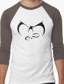 The Penguin-Dragon (First evolution) Men's Baseball ¾ T-Shirt