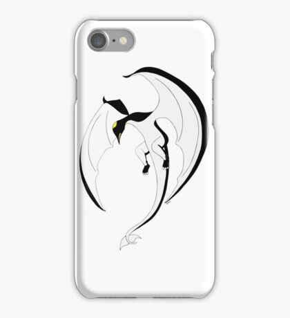 The Penguin-Dragon (Second evolution) iPhone Case/Skin