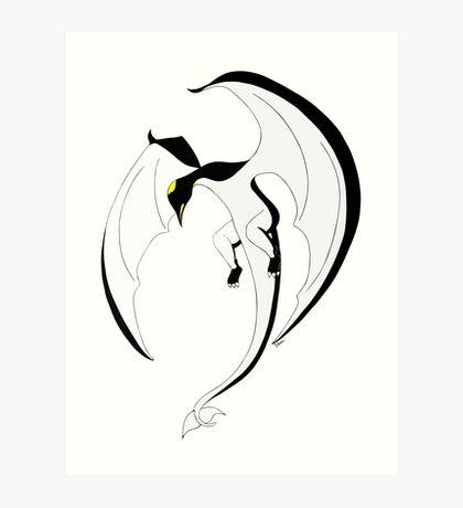 The Penguin-Dragon (Second evolution) Art Print