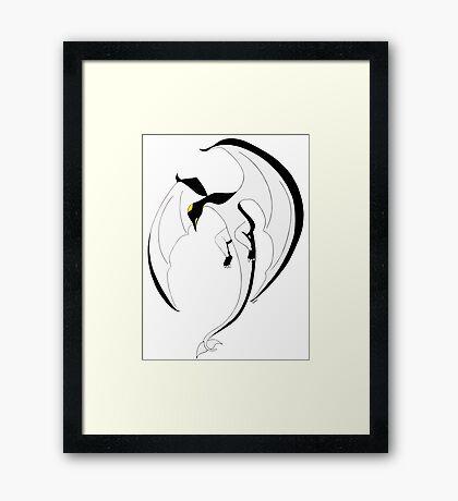 The Penguin-Dragon (Second evolution) Framed Print