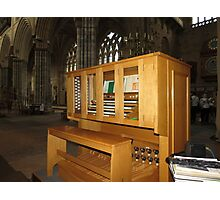 The Grand Organ Console, Exeter Cathedral Photographic Print