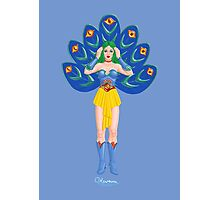 The Beplumed Oracle by Kevenn T. Smith Photographic Print
