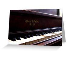 My Piano Greeting Card