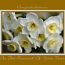 Congratulations On The Renewal Of Your Vows by Joy Watson