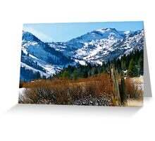 Squaw Valley Greeting Card