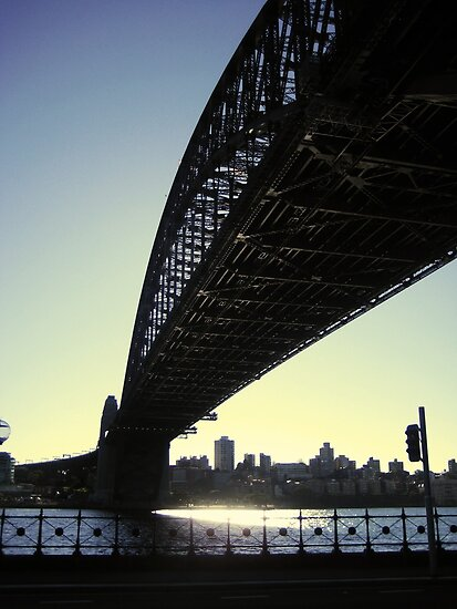 Harbour Bridge, Sydney City by pixelvision