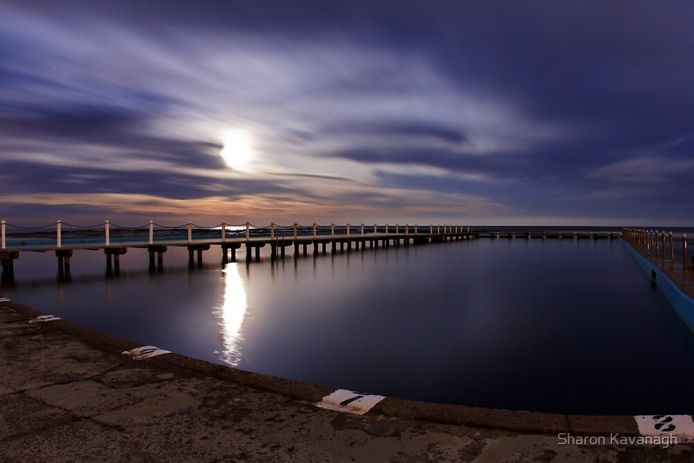 Lunar Swim_North Narrabeen by Sharon Kavanagh