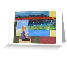Girl at Orford Greeting Card