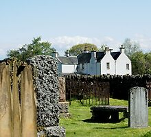 C18th manse on Contin Island, Ross-shire by BronReid
