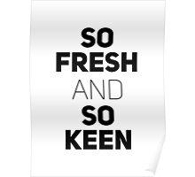 So Fresh and So Clean [White Brick] Poster