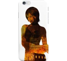 The Bad A$$, flaming Ada Wong iPhone Case/Skin