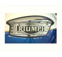 Triumph Art Print