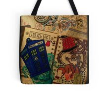 Doctor Who Travel Log  Tote Bag
