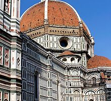 The Duomo of Florence Italy by jwwallace