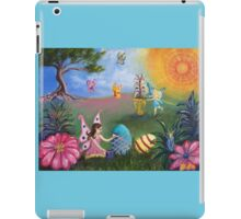 Helping out the Easter Bunny iPad Case/Skin