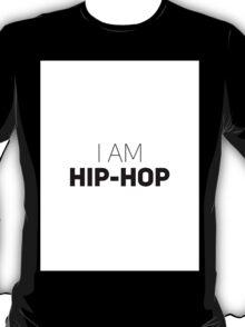 I Am Hip-Hop [White Brick] T-Shirt