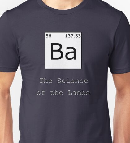 The Science of the Lambs Unisex T-Shirt