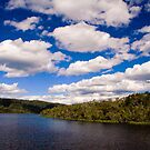 Clouds over the Gordon River, Tasmania by Elana Bailey
