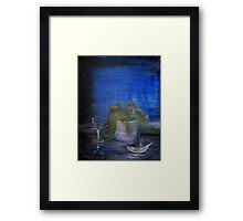 Still Life with a Cigarette Framed Print