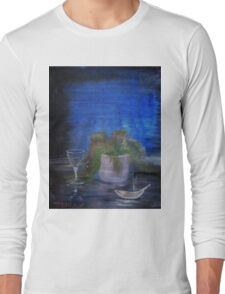Still Life with a Cigarette Long Sleeve T-Shirt