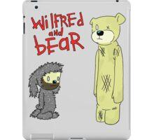 wilfred and bear iPad Case/Skin
