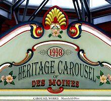 Carousel Panel by Linda Miller Gesualdo