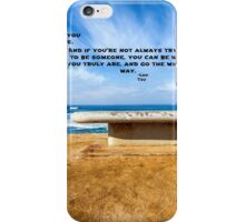 WORDS OF PEACE iPhone Case/Skin
