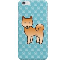 Finnish Spitz Cartoon Dog iPhone Case/Skin