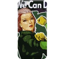 Rogue the Riveter iPhone Case/Skin