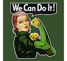 Rogue the Riveter Photographic Print