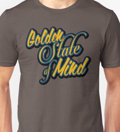 Golden State of Mind Script Unisex T-Shirt