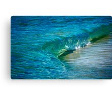 Shades of Blue and Green... Canvas Print