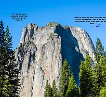 WORDS ABOVE THE ROCK by joseph s  giacalone