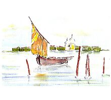 Watercolour sketch by Janys Hyde