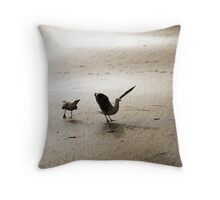 Awww come on... Throw Pillow