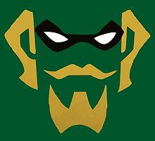 Green Arrow Simple Design by Conkernads