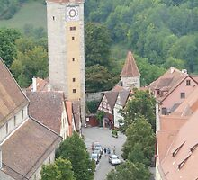 Rothenburg, Germany by smallan