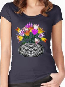Spring Tulips 2015 Women's Fitted Scoop T-Shirt
