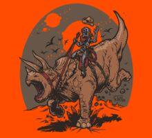 Triceratops CowBot Kids Tee