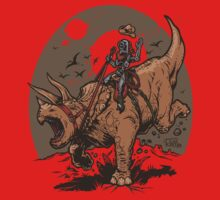 Triceratops CowBot One Piece - Long Sleeve