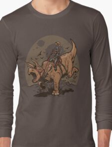 Triceratops CowBot Long Sleeve T-Shirt