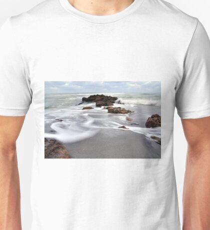 Rocks on the Beach Unisex T-Shirt