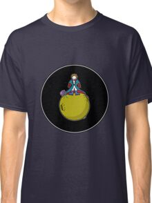 Spaceboy on Asteroid (Inspired by The Little Prince) [Big] Classic T-Shirt