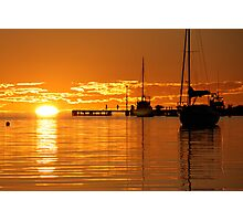 """Sunset over Shark Bay"" Shark Bay, Western Australia Photographic Print"