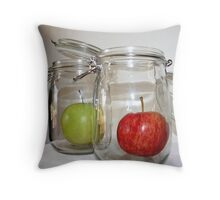 Preserved Apples? Throw Pillow