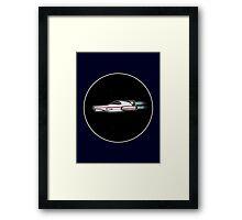 Spaceship in space [Big] Framed Print