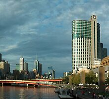 Melbourne City panorama by Charles Kosina