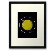 Asteroid [Big] Framed Print